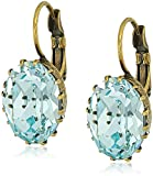 Sorrelli Coastal Mist Crown Jewel French Wire Drop Earrings