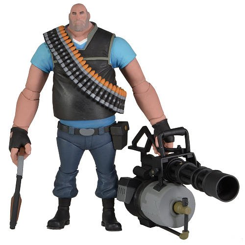 Team Fortress 7inch Ultra Deluxe Action Figure Series 2 BLU Heavy