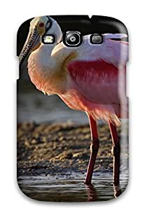 Hot 1812126K53012908 Fashionable Style Case Cover Skin For Galaxy S3- Spoonbill