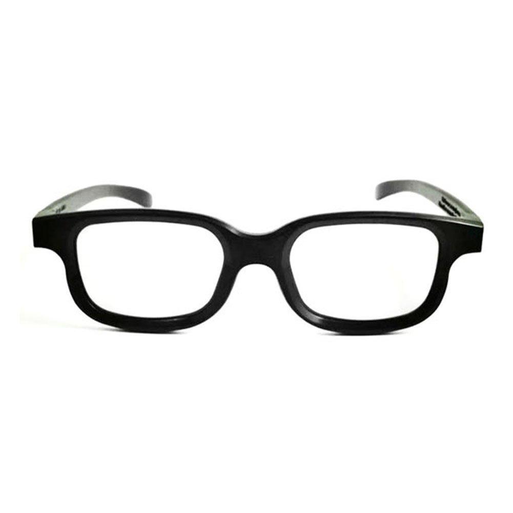 Asiright - Gafas 3D polarizadas con película negra, DVD, LCD, vídeo, juego, cine, círculo: Amazon.es: Electrónica