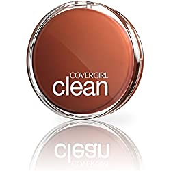 COVERGIRL Clean Pressed Powder Foundation Classic Ivory, .39 oz