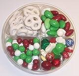Scott's Cakes 4-Pack Deluxe Christmas Mix, Dutch Mints, Christmas Jordan Almonds, & White Pretzels