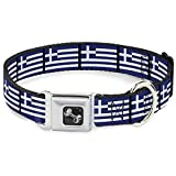 Buckle Down Seatbelt Buckle Dog Collar %...