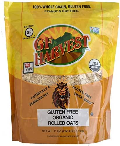 GF Harvest Organic Rolled Oats