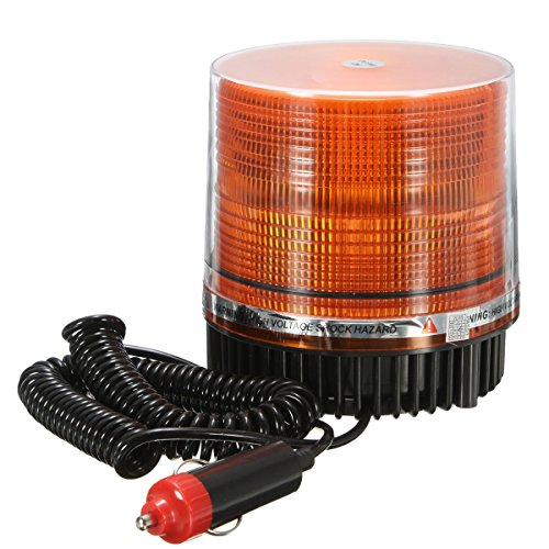 2016 New DC12V LED Amber Car Truck Magnetic Mounted Vehicle Emergency Beacon Emergency Strobe Flashing Lamp