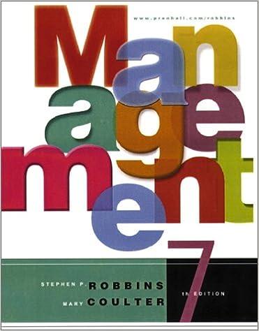 Management Stephen Robbins Pdf