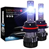 9007 CREE-XD LED Headlight Bulbs Conversion Kit Replace Car Halogen/HID Low High Fog