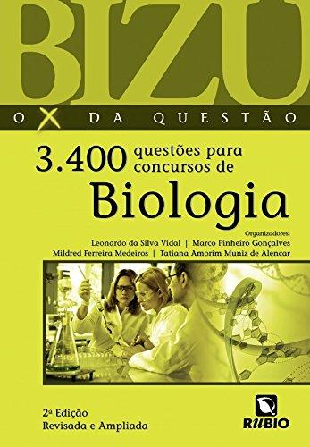 3.400 Questões Para Concursos De Biologia