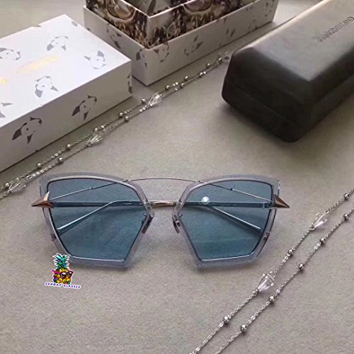 Unisex gogoboi Charming Angel wings Arrow glasses For wangderland sunglasses - blue GTTPY3wR