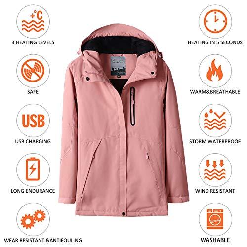 Amazon.com: Venustas - Chaqueta con capucha para mujer ...