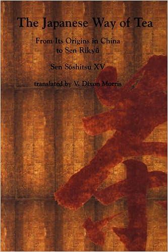 Sen Lu Yu// Japans Way of Tea Pa