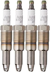 4. Autolite HT15 Platinum High Thread Spark Plug, Pack of 4