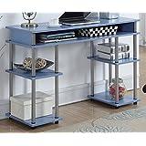 Convenience Concepts Designs2Go No Tools Student Desk, Blue
