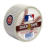 Duck Brand 240736 Chicago Cubs MLB Team Logo Duct Tape, 1.88-Inch by 10-Yard, 1-Pack