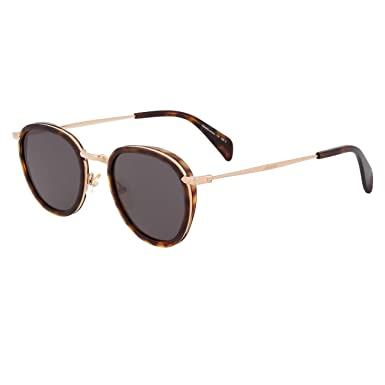13cf79b166 Image Unavailable. Image not available for. Color  Celine 41423 S 0J1L  Havana Green Gold EC brown lens Sunglasses