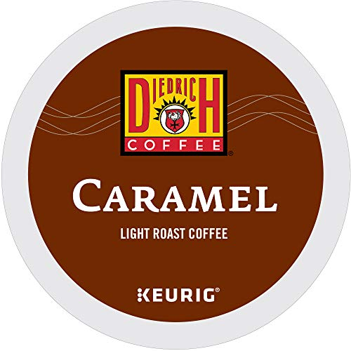 Diedrich Caramel, Single Serve Coffee K Cup Pods for Keurig Brewers, Medium Roast, 96Count, Caramel, 96Count