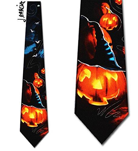 Jerry Garcia (Beehive - Halloween) Tie Mens (Jerry Garcia Halloween Ties)