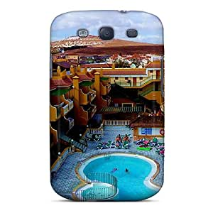 (SuICfkM3778JtVBo)durable Protection Case Cover For Galaxy S3(pool In A Desert Resort)