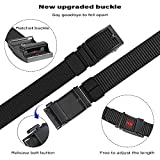 JUKMO Ratchet Belt for Men, Nylon Web Tactical Gun