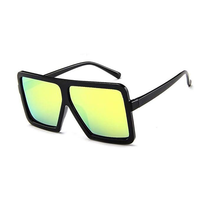 ZARLLE-Gafas Gafas de colores, Mujeres Hombres Gafas Retro ...