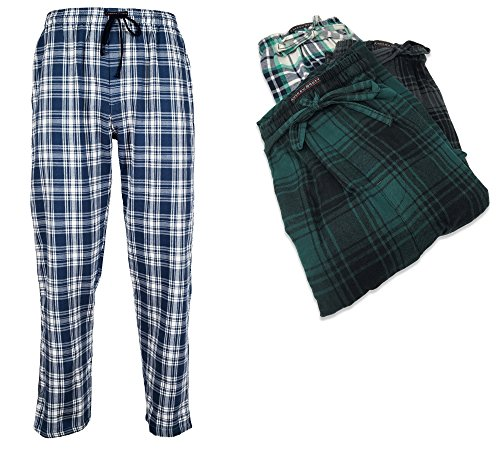 Andrew Scott Boys 6 Pack Woven and 3 Pack Brushed Jog Pant (LARGE/14-16, 3 Pack - Soft Brushed Plaids)