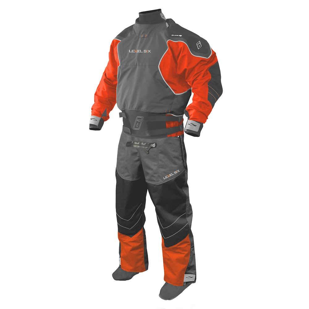 LevelSix エンペラードライスーツ 3.0プライドライスーツ カヤック/釣り/カヌー/ラフティング用 オレンジ XX-Large