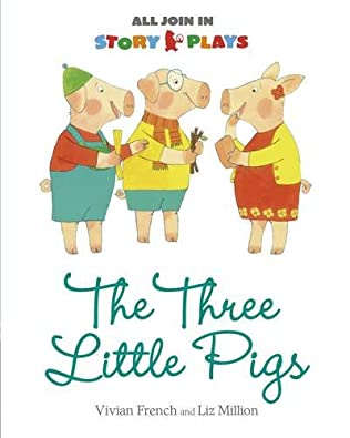 book cover of The Three Little Pigs
