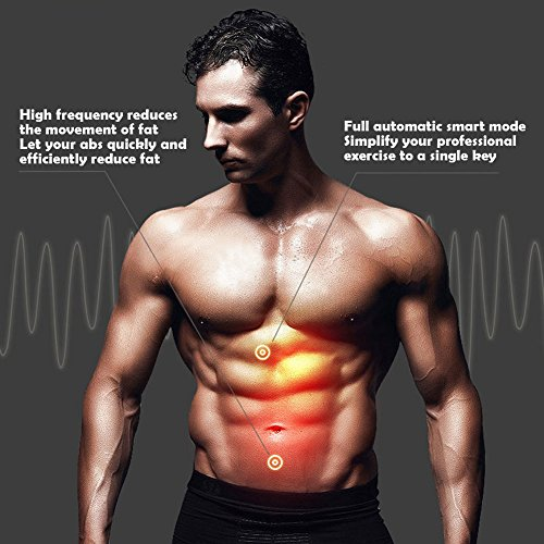 Ab Toner Ab Trainer Abdominal Toning Wireless Electronic Muscle System for Abdomen Support Men & Women