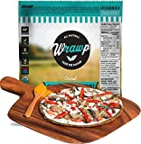 Wrawp Paleo Pizza Crust | Original Flavored Organic Gluten Free, Dairy Free, Soy Free, Nut Free and Vegan Pizza Crust