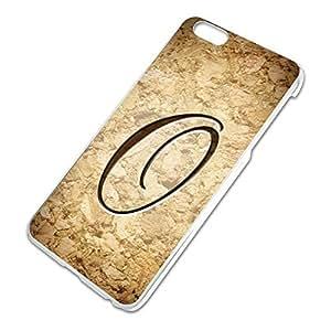 Letter O on Cork Design Slim Fit Hard Case Fits Apple iPhone 6 Plus