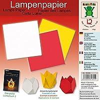 Lampenpapier Uni Mix 20 x 20 cm: Papier für Bücher: Das große Lichterbuch 2 (ISBN 978-3-938127-20-9), Das große Lichterbuch (ISBN 978-3-938127-03-2)