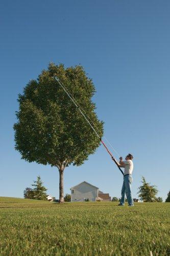 Extendable Tree Saw : Fiskars telescoping pruning stik manual muscle