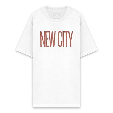 7bcf4b13e3 SATURDAYS NYC サタデーズ ニューヨークシティ NEW CITY S/S TEE - WHITE ショートスリーブ T