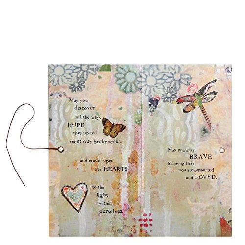 Kelly Rae Roberts Angel Ornament Card - HOPE & HEALING Photo #2