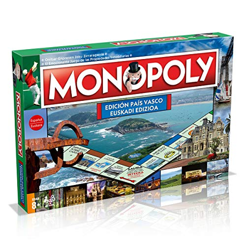 Winning Moves Pais Monopoly Pais Vasco (81359), multicolor, ninguna (ELEVEN FORCE