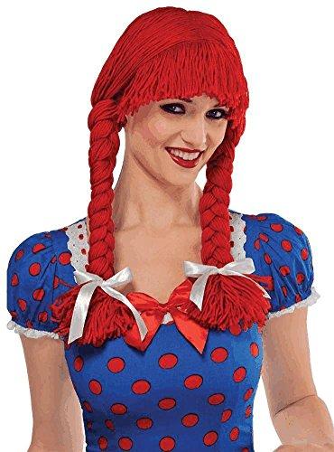 Rag Doll Accessories (Braided Rag Doll Wig Costume Accessory)
