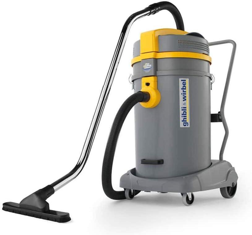 Aspiradora en seco y húmedo GHIBLI WIRBEL - 80L - 2500W - POTENCIA WD 80.2 P TPT: Amazon.es: Bricolaje y herramientas