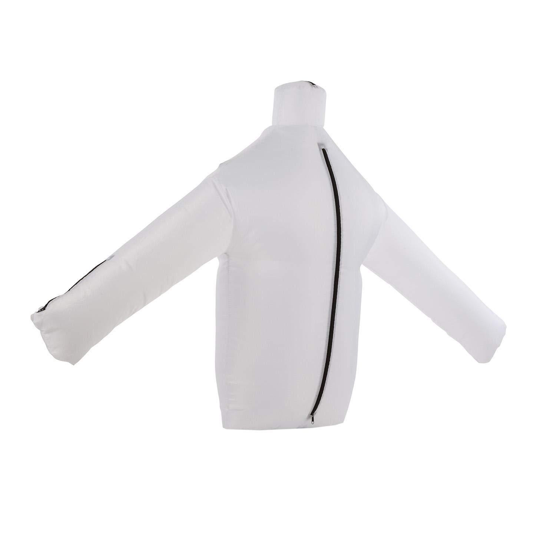 oneConcept ShirtButler • automatischer Hemden-Trockner • Hemden-Bügler • Bügelpuppe mit Heizgebläse • 2-in-1 • Easy-Dry • Multi-Size • bis 65 °C • schwarz