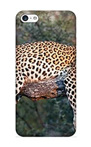 Iphone 5c Case - Case Protective For Iphone 5c- Animal Leopard Case For Thanksgiving's Gift