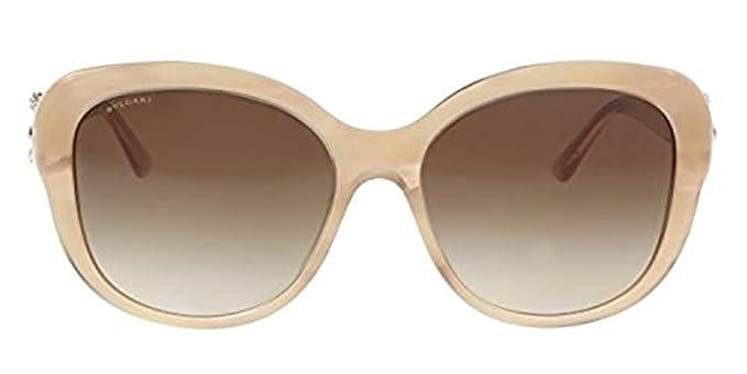 Amazon.com: Bvlgari bv8180bf de la mujer anteojos de sol, L ...