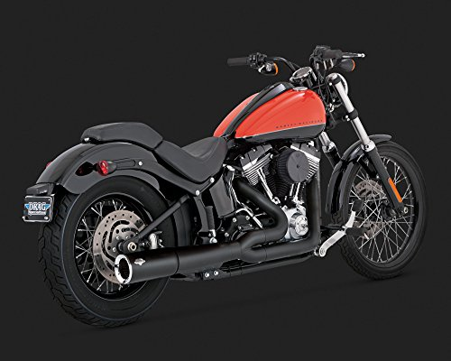 - Vance and Hines 2-into-1 Pro Pipe Exhaust System for Harley Davidson 2012-2015 - One Size