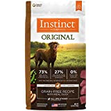 Instinct Original Grain Free Recipe with Real Duck Natural Dry Dog Food by Nature's Variety, 4 lb. Bag