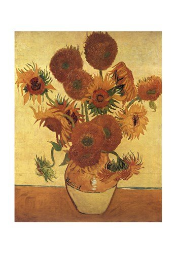 Amazon Vase With Fifteen Sunflowers C1888 By Vincent Van Gogh