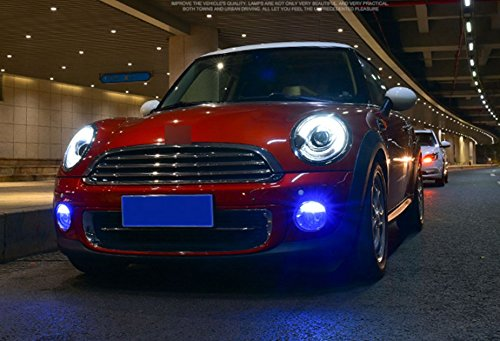 GOWE Car Styling Car Styling For BMW mini R56 headlights 2007-2013 For R56 head lamp led DRL front Bi-Xenon Lens Double Beam Color Temperature:4300k;Wattage:35w 3