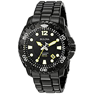 Bulova 98B242 Sea King  Black Men's Watch