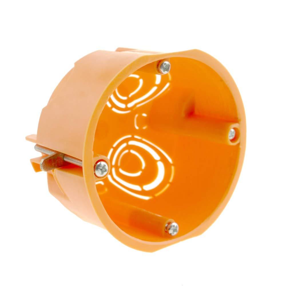 BeMatik - Caja de empotrar Redonda 67mm para Paredes Huecas BeMatik.com