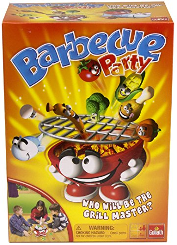 Barbecue Party Game --  Put Food on the BBQ Grill Before it Goes Flying Off ()
