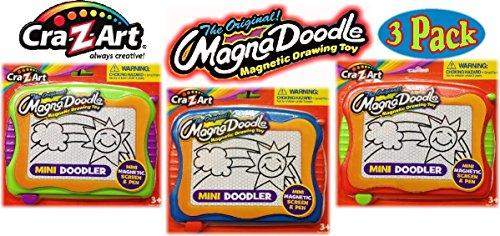 cra-z-art-original-magna-doodle-drawing-toy-mini-doodler-travel-size-gift-set-bundle-3-pack-2