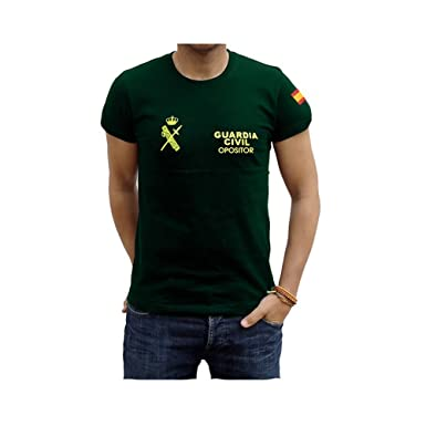 Piel Cabrera Camiseta Guardia Civil Opositor: Amazon.es: Ropa y accesorios