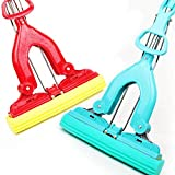 wiwanshop (Blue) Sponge Mop Strong Water Adsorption Mops Cleaner Cleaning Floor Window